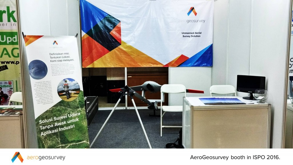 AeroGeosurvey booth in ISPO 2016